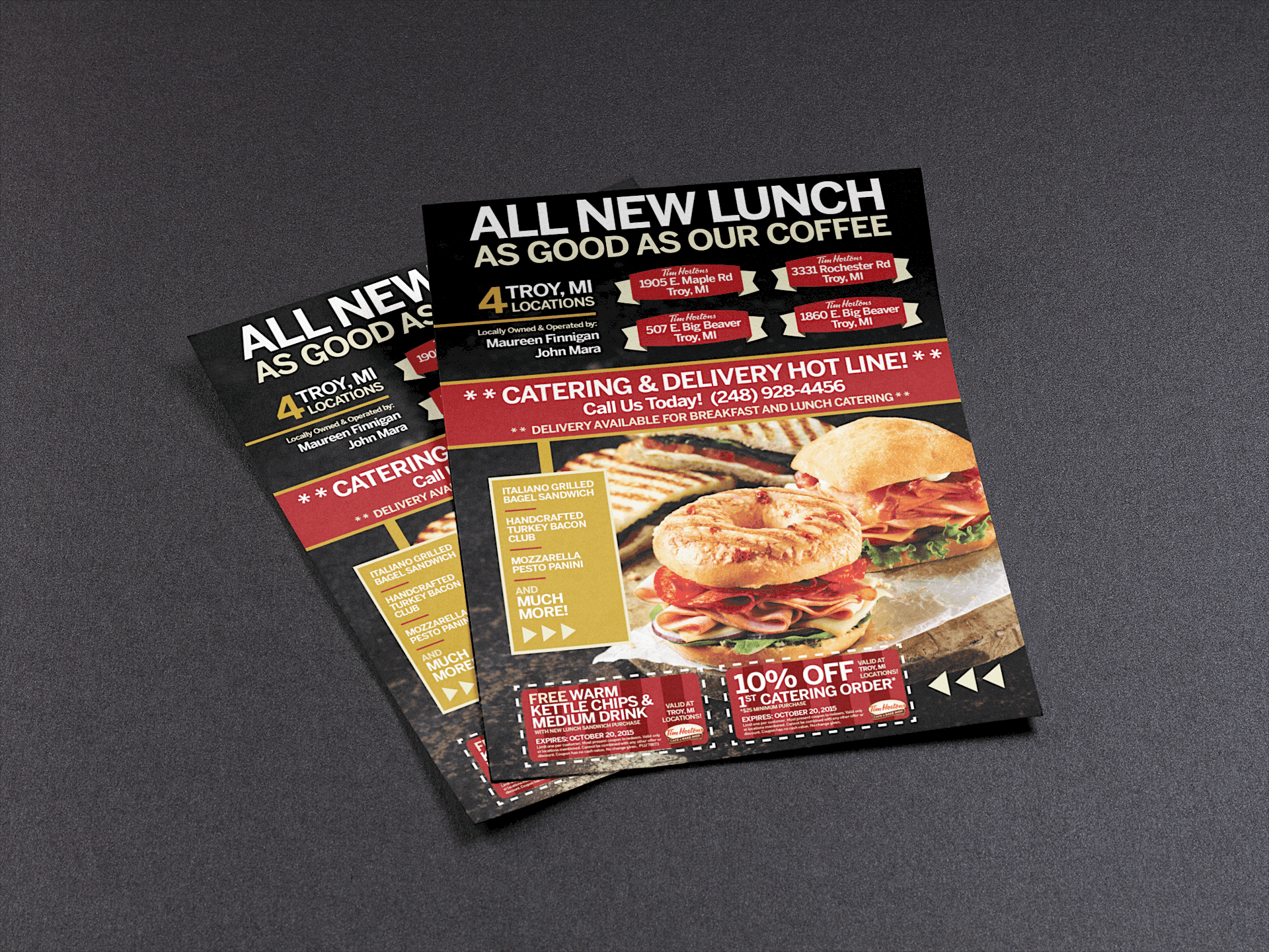 TH Ad - All New Lunch