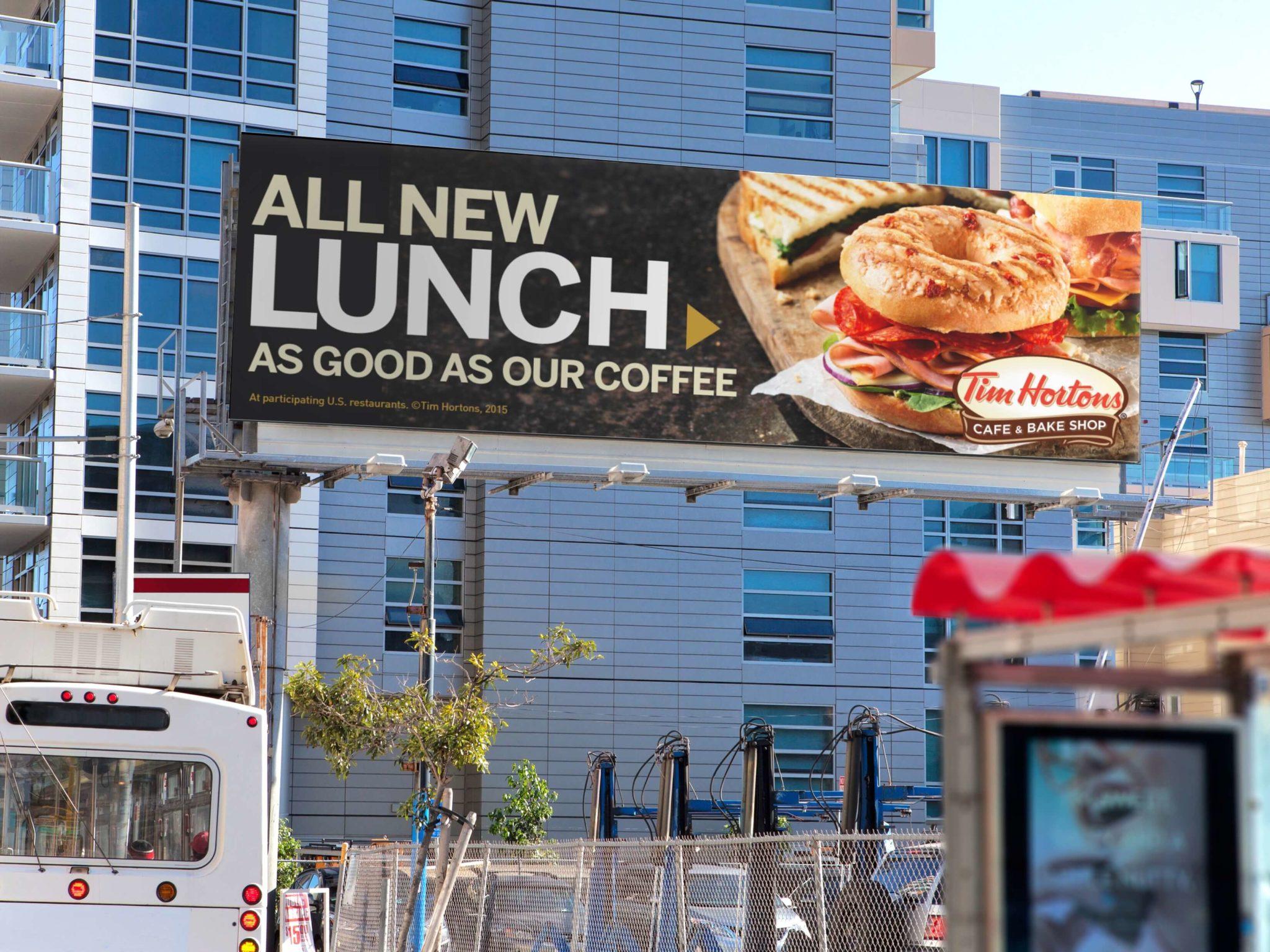 TH All New Lunch Billboard